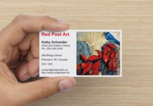 Red Post Art